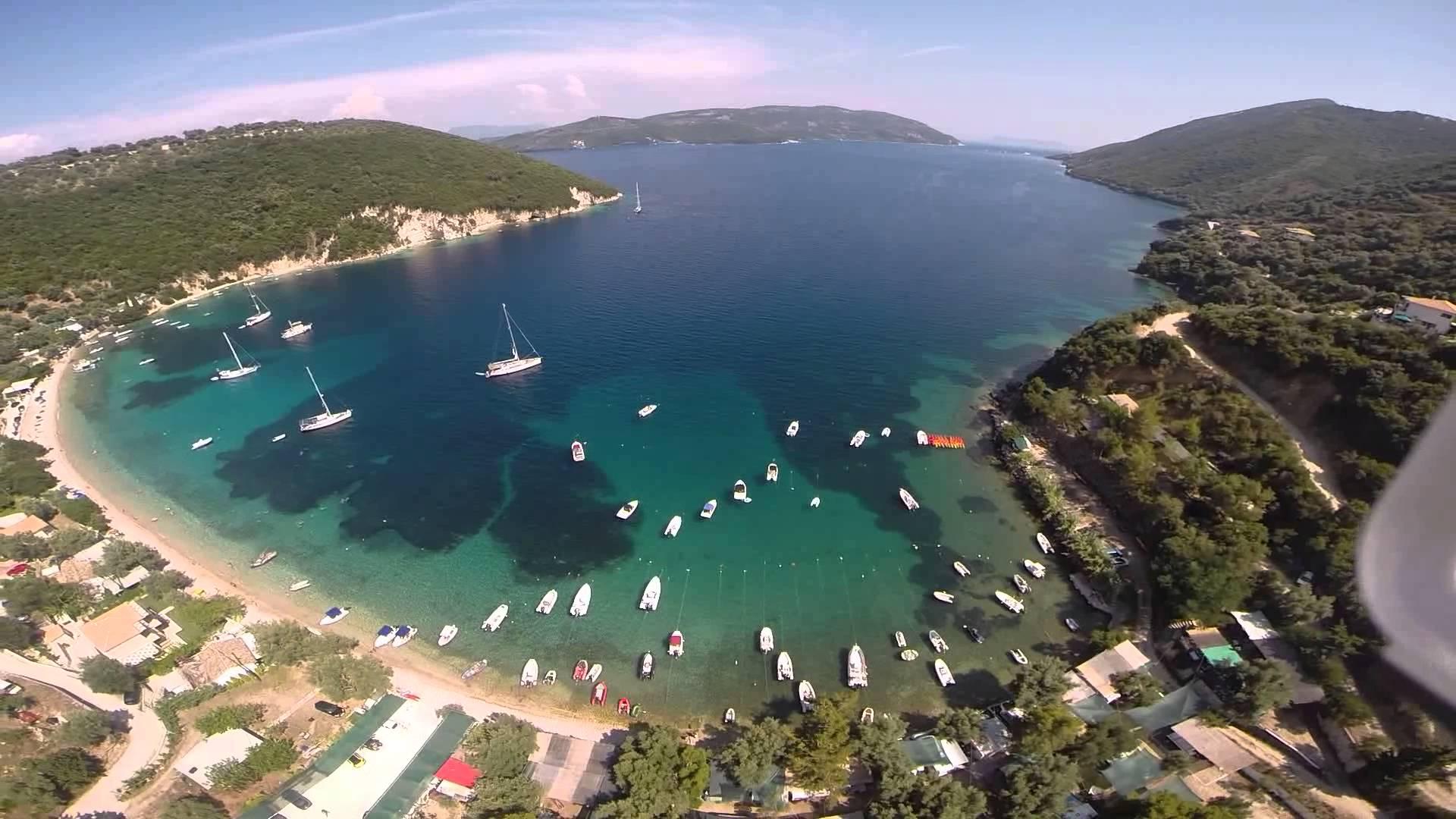 lefkada-beaches-desimi-beach-aerial