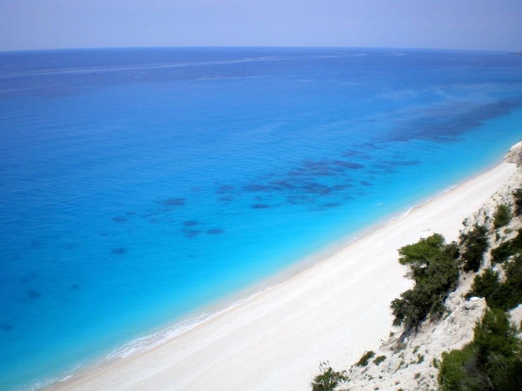 Egremni Beach Lefkas Beaches Lefkada Beaches