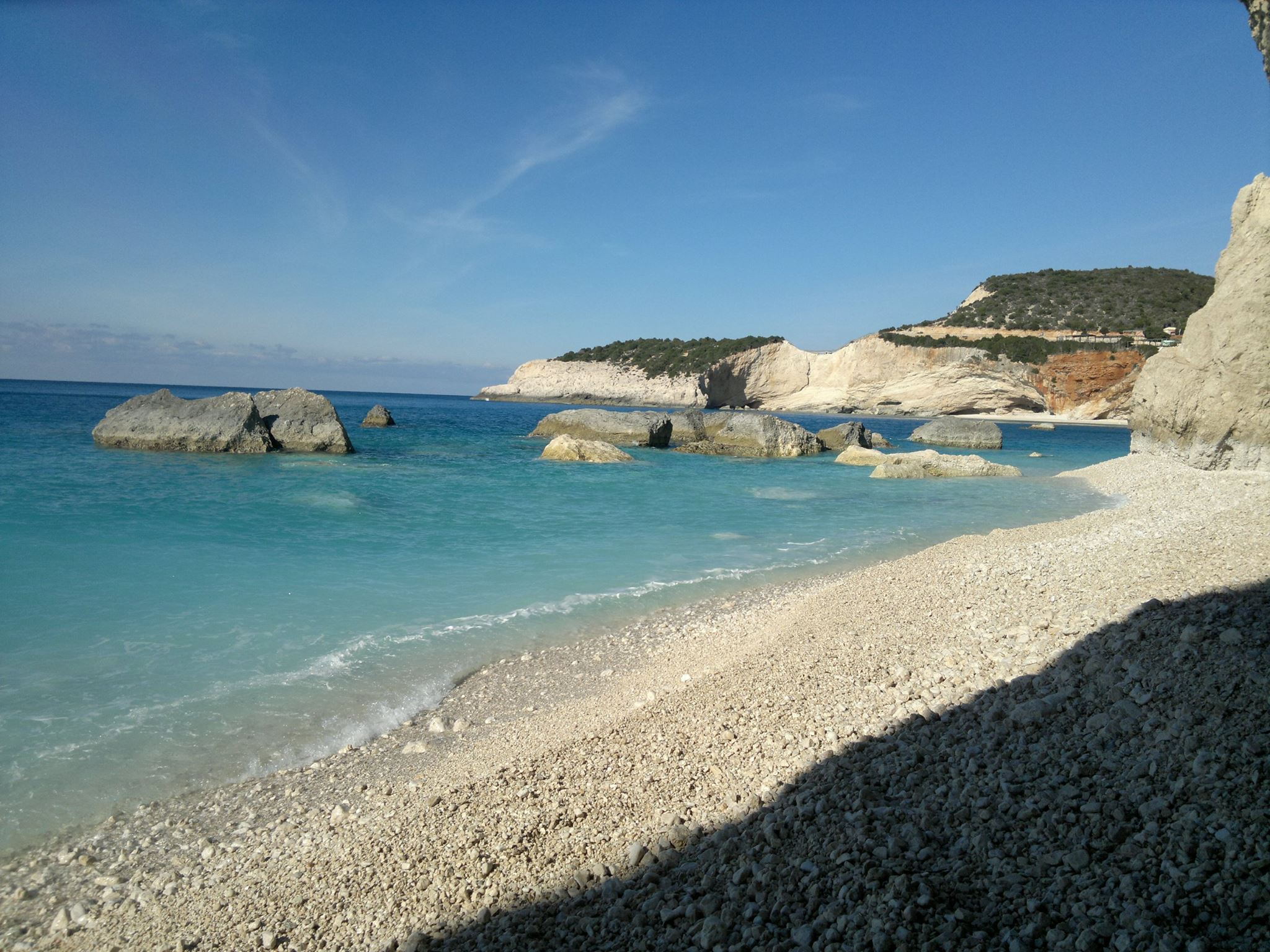 lefkada-beaches-porto-katsiki-beach-view
