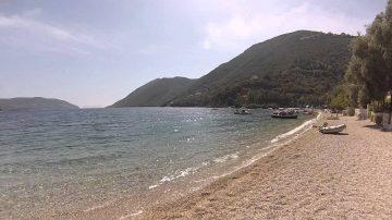 Lefkada beaches Desimi beach