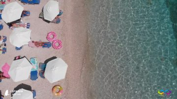 Lefkada beaches Afteli Beach