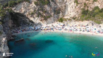 Lefkada beaches Agiofili Beach