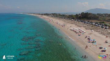 Lefkada beaches Agios Ioannis Beach