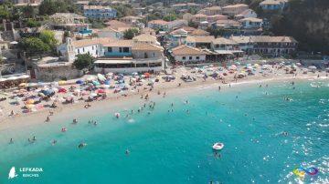 Lefkada beaches Agios Nikitas Beach