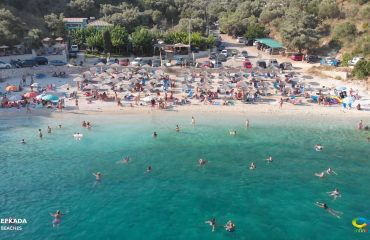 Lefkada beaches Ammouso Beach