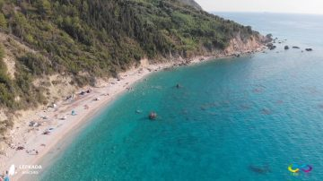 Lefkada beaches Avali Beach