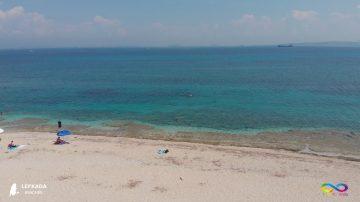 Lefkada beaches Gura Beach