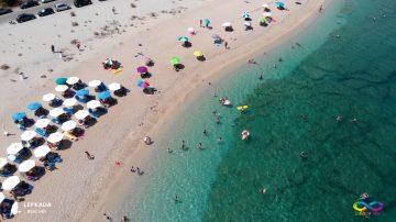 Lefkada beaches Kastro Taol Beach