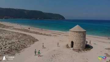 Lefkada beaches Miloi Beach
