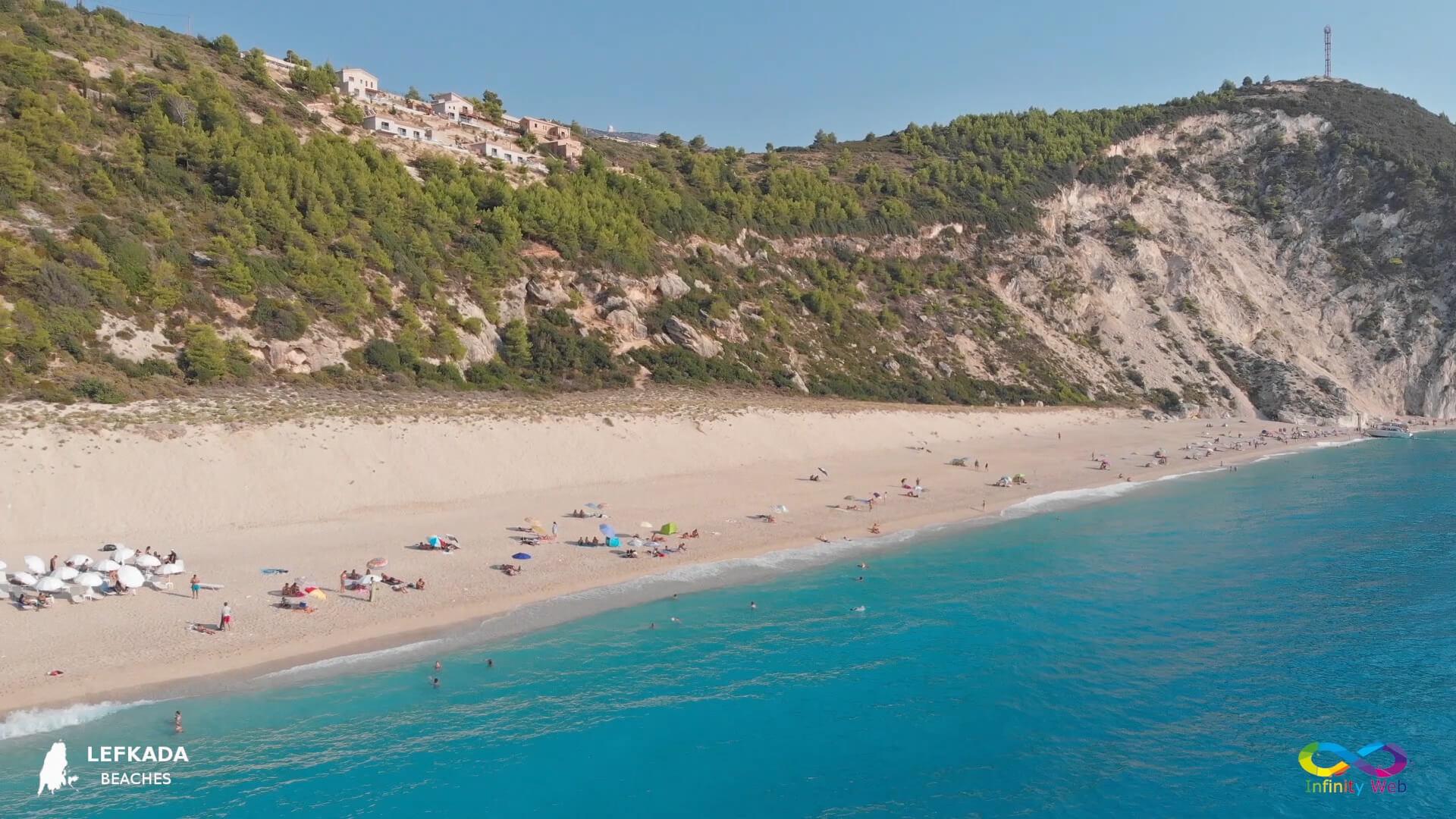 Lefkada beaches Milos Beach