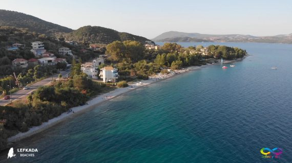 Lefkada beaches Nikiana Beach
