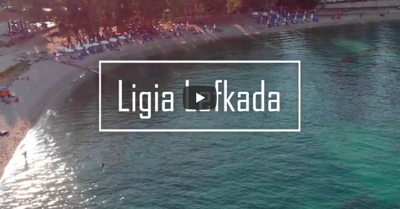 Lefkada beaches Ligia Beach for youtube