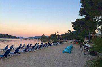 Lefkada beaches Nidri beach