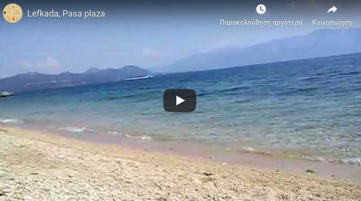 Lefkada beaches Pasa Beach for youtube
