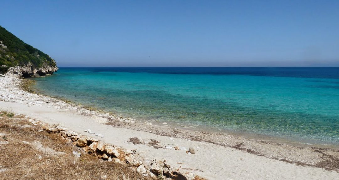 Lefkada beaches Tsoukalades beach